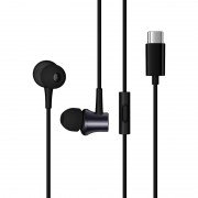 XIAOMI HSEJ04WM Mi In-Ear Headphones Piston Earphone USB Type-C Headset with Mic - Black