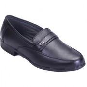 Shoebook Men's Black Leather Formal Shoes