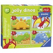 Ravensburger my first puzzle 2-3-4-5 pezzi dinosauri 07289