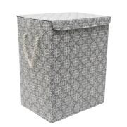 Cos textil rufe baie pliabil dreptunghiular TATUMBLA, 0188138, 40x30xH50cm Gri