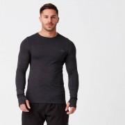Myprotein T- Shirt a maniche lunghe Seamless Sculpt - XL - Nero