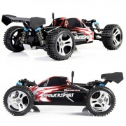 Sonstige Marke Ferngesteuertes RC Car High Speed 2.4G 4WD Off-Road Power Buggy - Schwarz / Rot