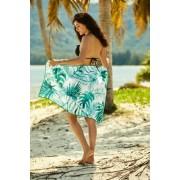 Henderson Ladies 38130 Ferry plážový ručník Univerzální zelená-bílá