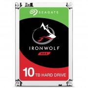 "Seagate IronWolf ST10000VN0004 - Disco rígido - 10 TB - interna - 3.5"" - SATA 6Gb/s - 7200 rpm - buffer: 256 MB"