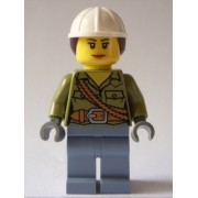 CTY687 Minifigurina LEGO City - Volcano Explorer (CTY687)