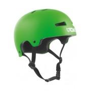 TSG Evolution Solid Satin Lime Green - Skate Helm