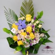 "Aranjament floral ""Yellow Roses"""
