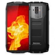 Blackview BV6800 Pro IP68 Smartphone Desbloqueado (Impermeable, Android 8.0 4G LTE Dual SIM, 5.7 Pulgadas FHD+ IPS, Octa Core 4 GB + 64 GB, 6580 mAh, 8 MP + 16 MP, para AT&T T-Mobile), Color Negro