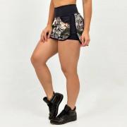 GraffitiBeasts Cost Two - Dames Sport Skirt met binnenbroek en pockets met een heerlijk draagcomfort. - Multicolor - Size: Small
