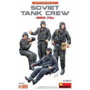 1 35 1 35 SOVIET TANK CREW 1960-70s - 5 figures 1 35