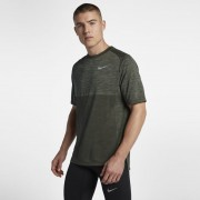 Haut de runningà manches courtes Nike Dri-FIT Medalist pour Homme - Olive