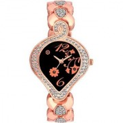 TRUE CHOICE TC 013 COPER BEALT AND BLACK DAIL SUPER WATCH FOR GIRLS.