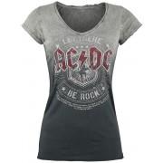 AC/DC Let There Be Rock Damen-T-Shirt - Offizielles Merchandise