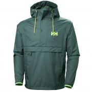 Helly Hansen Mens Loke Packable Anorak Hiking Jacket Green XL