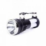 Lanterna de mana Lampa de Camping portabila cu incarcare 220V + incarcare solara