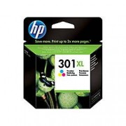HP Cartucho de tinta original HP 301XL de alta capacidad Tri-color