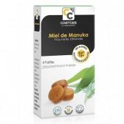 Comptoirs et Compagnies Pastilles Miel de Manuka et Eucalyptus - Boîte de 8 pastilles