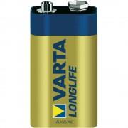 Алкална батерия VARTA LONGLIFE ALKALINE, 9 V - 1 бр.