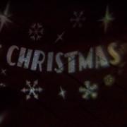 Kaemingk Christmas Light Merry X-Mas Projector LED Cool White