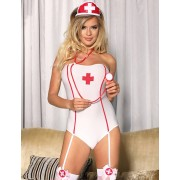 Nurse Costume Teddy