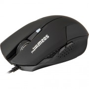 Mouse Marvo M205 BLACK 1600 dpi, Optic, 6 Butoane, USB