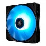 "Ventilator DEEPCOOL 120x120x25 mm, RGB LED, PWM, Hydro Bearing, control dual iluminare, 1 buc. in pachet ""RF120x1"""