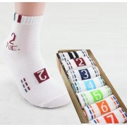 Set di 7 paia di calzini numerati Socks 7