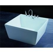 items-france EMPOLI - Baignoire ilot carre 120x120