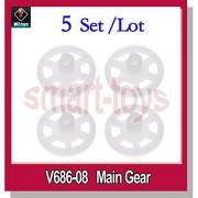 Generic 5Set 20pcs : 5Set V686-08 Gears Set for Wltoys JJRC V686G V686J V686K RC Quadcopter Parts V686 Main Gear