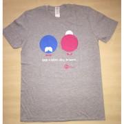 Krása pomoci Dámské tričko KRÁSA POMOCI - Babi a dědo, díky, že jsem