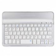 Bluetooth V3.0 ultra fino de aleacion de aluminio de 59 teclas de teclado para Ipad MINI - Plata