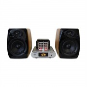 MADISON MAD-TA15BT, 2 x 30 W RMS, sistem audio vintage, amplificator tub, bluetooth, USB (MAD-TA15BT)
