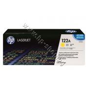 Тонер HP 122A за 2550/2800, Yellow (4K), p/n Q3962A - Оригинален HP консуматив - тонер касета