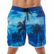 Lord Tropical Boardshorts Beachwear Blue MA008