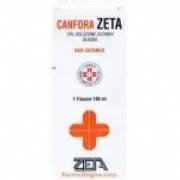 Zeta Farmaceutici Canfora Zeta 10% Soluzione Cutanea Oleosa 100 Ml