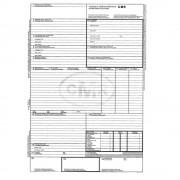 CMR International A4, 6 Ex, 25 Seturi/Carnet - Scrisoare de Transport sau Formular Marfa
