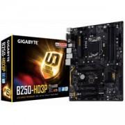 Дънна платка GIGABYTE B250-HD3P, Socket 1151, ATX, 4xDDR4, HDMI, GA-MB-B250-HD3P