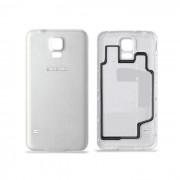 Coque Arrière / Cache Batterie Samsung Galaxy S 5 Mini - G 800 F / Blanc