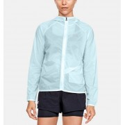 Under Armour Damesjack UA Qualifier Storm Packable - Womens - Blue - Grootte: Extra Small