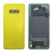 Tampa traseira para Samsung Galaxy S10e G970F amarela