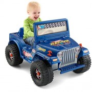 Power Wheels Hot Jeep Wrangler, Blue (6V) [ Exclusive]