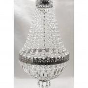 Home24 Hanglamp Cupola Nikkel, home24 - Zilver