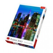 Puzzle Trefl 500 Luna Plina In Manhattan