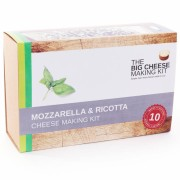 The Big Cheese Making Company Mozzarella and Ricotta Making Kit
