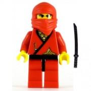 LEGO Ninja Minifig Red Ninja