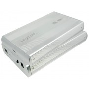"Box HDD Esterno SATA 3.5"" USB3.0 Super Speed Silver"