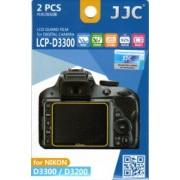 JJC - FOTOGRAPHY EQUIPMENT JJC LCP-D3300 PELLICOLA PROTETTIVA - LCD PROTECTOR NIKON D3300