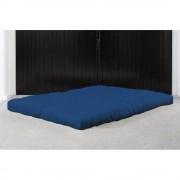 Matelas FUTON COCO bleu royal longueur couchage 200cm épaisseur 16cm