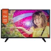 Televizor LED Horizon 43HL737F, Full HD, USB, HDMI, 43 inch/109cm, DVB-T/C, negru