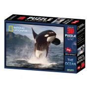 National Geographic 3D puzzle orka 500 kom